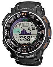 Schwarze Casio Pro Trek Armbanduhren