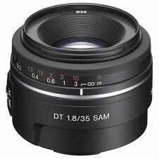 Fixed/Prime Focal 35mm Camera Lenses for Sony
