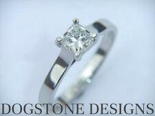 18 Carat Engagement White Gold VS2 Fine Diamond Rings