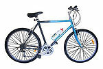 Aluminium Frame Unisex Adults Mountain Bike Bikes