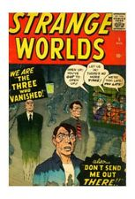 Atom Golden Age Horror & Sci-Fi Comics