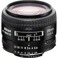 Nikon F Fixed/Prime Camera Lenses 28mm Focal
