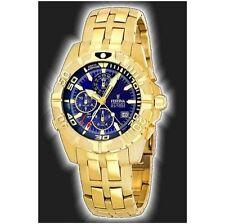 Polierte Vergoldete Armbanduhren mit Arabische Ziffern