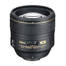 Nikon NIKKOR AF-S Camera Telephoto Lenses 85mm Focal