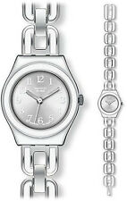 Stainless Steel Case Swatch Irony Watches