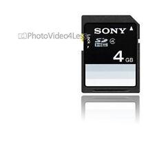 - SF4N4 Sony esencial 4 GB clase 4 tarjeta SDHC