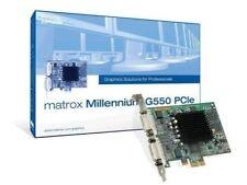 Cartes graphiques et vidéo Matrox G550 pour ordinateur