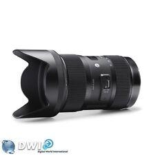 Sigma DC f/1.8 Camera Lenses for Canon