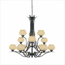 Stained glass bronze chandeliers ceiling fixtures ebay chandelier aloadofball Gallery