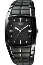 Analoge Citizen Eco-Drive Armbanduhren mit Edelstahl-Armband