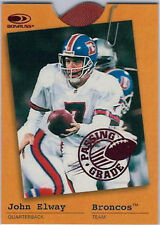 Serial Numbered Donruss John Elway Original Football Cards