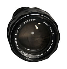 SLR Camera Lenses for Pentax 50mm Focal