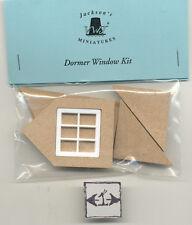 Half Scale 1:24 Gable Dormer  Window Kit  Jackson's Miniatures Dollhouse M13