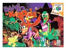 Nintendo 64 Nintendo Banjo-Kazooie Video Games