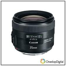 Canon Fixed/Prime Auto Focus f/2 Camera Lenses