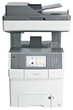 Lexmark X Colour Computer Printers with Networkable