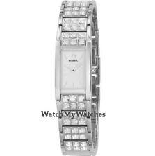 Fossil rechteckige Armbanduhren für Damen