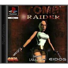 Tomb Raider Sony PlayStation 1 Video Games