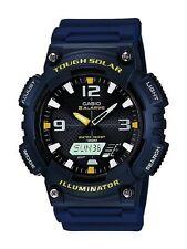 Sportliche Quarz-(Solarbetrieben) Armbanduhren mit 12-Stunden-Zifferblatt und Matte