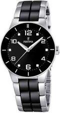 Silber Festina Armbanduhren mit Uhrengehäuse Größe 32-35,5mm