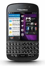 Téléphones mobiles noirs BlackBerry, 16 Go