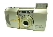 Nikon Point & Shoot Film Cameras with Built - in Flash