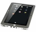 PC tablette gris avec Wi-Fi