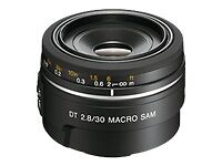 Macro/Close Up f/2.8 Camera Lenses for Sony