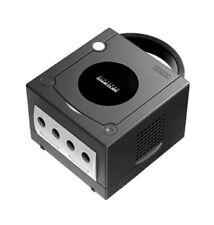 Consoles de jeux vidéo noirs pour Nintendo GameCube PAL
