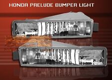 97 98 99 00 01 HONDA PRELUDE CLEAR FRONT BUMPER LIGHTS 1997 1998 1999 2000 2001