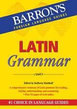 English, Grammar Textbooks in Latin