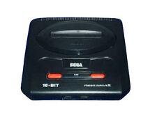 Consoles de jeux vidéo noirs pour sega mega drive
