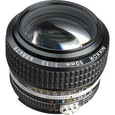 Nikon 1 NIKKOR Manual Focus Camera Lenses 50mm Focal