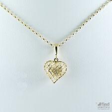 9Carat Yellow Gold Love Hearts Fine Necklaces & Pendants