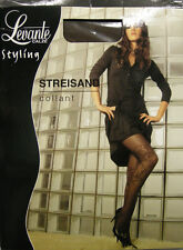 COLLANT CALZA DONNA WOMAN LEVANTE ART.STREISAND T.1/2 COL.MARRONE 40 DEN 44 DTEX