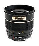 Samyang Camera Lenses for Sony 85mm Focal