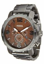 Fossil Men's Stainless Steel Band Dress/Formal Wristwatches