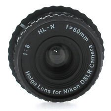 Holga Manual Focus Camera Lens for Nikon F