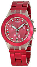 Swatch Unisex Round Wristwatches