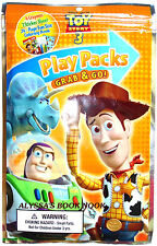DISNEY'S TOY STORY PLAY PACK ~FUN BOOK, CRAYONS & STICKERS~