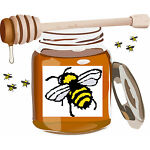 Bizzybees Honey Pot