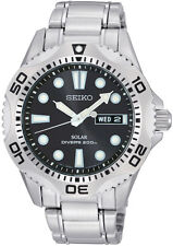 Seiko Stainless Steel Case Adult Casual Wristwatches