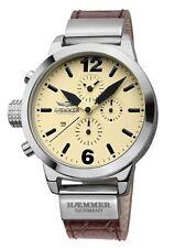 Armbanduhren aus echtem Leder mit 24-Stunden-Zifferblatt für Erwachsene und Damen