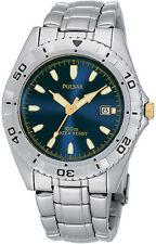 Pulsar Stainless Steel Case Digital Wristwatches