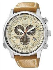 Citizen Armbanduhren mit Datumsanzeige und gebürstetem Finish