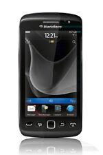 Téléphones mobiles noirs BlackBerry USB