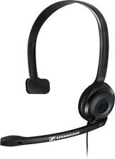 Single Earpiece Computer Headsets with Call functions