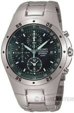 Seiko Men's Quartz (Battery) Round Wristwatches