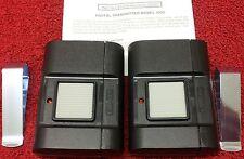 1050 Stanley 2pack Linear 310mhz Porta da garagem Portão Remoto 105015 24911 10 Dip Sw