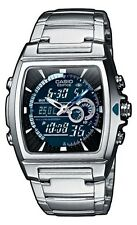 Stainless Steel Case Men's Rectangle Digital Wristwatches